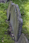 The Layers of a Slate Headstone