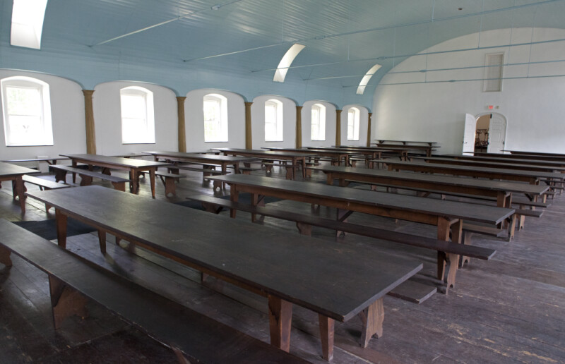 The Long Tables of the Feast Hall
