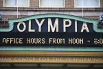 The Marquee for the Olympia Theater