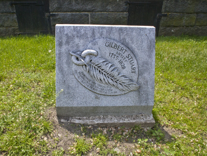 The Memorial Dedicated to Gilbert Stuart