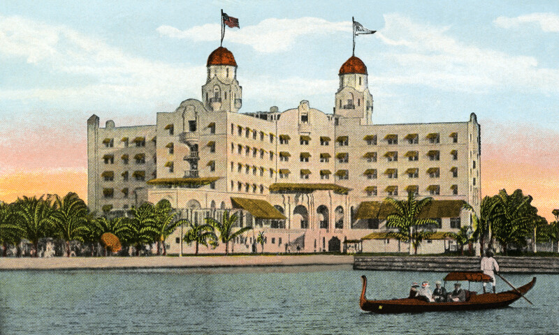 The Nautilus Hotel, from the Bay