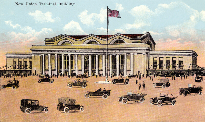 The New Union Terminal Building
