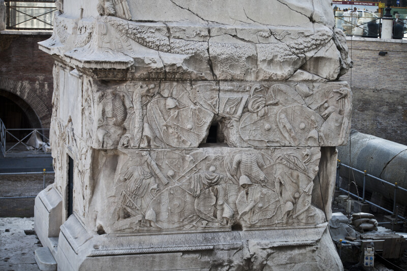 The Northeast Side of the Pedestal of Trajan's Column
