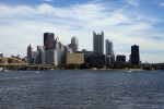 The Ohio River and Downtown Pittsburgh