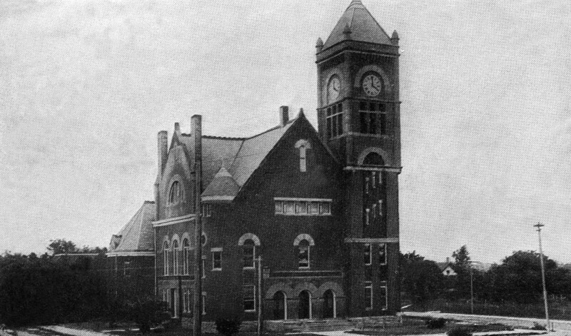 The Orange County Courthouse