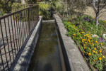 The Original Acequia at the Alamo