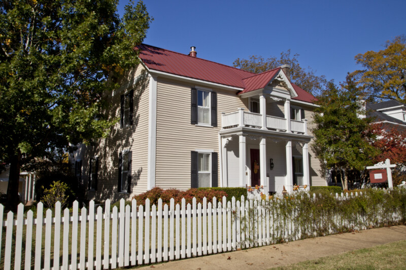 The Pauline Parker House in Corinth, Mississippi