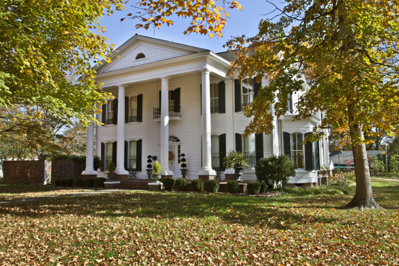 The Phillips-Nelson-Williams Home in Corinth, Mississippi