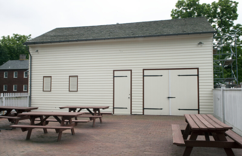 The Picnic Area by the Carriage House