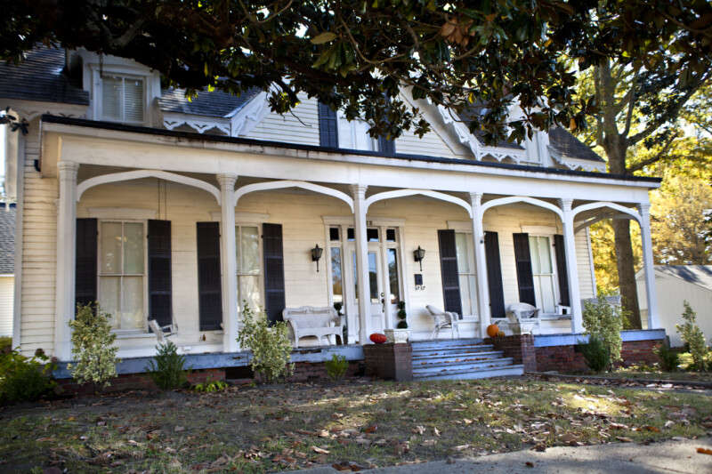 The Porch of the Taylor House