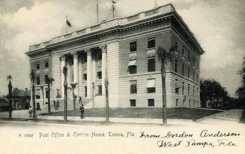 The Post Office and Custom House in Tampa, Florida