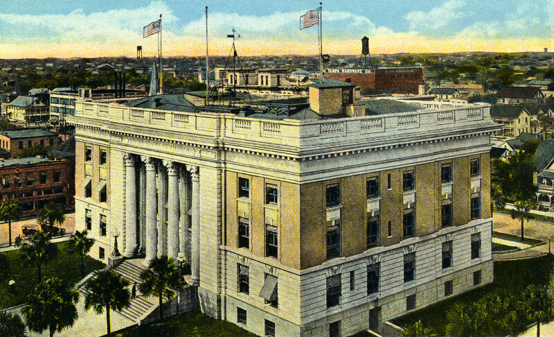 The Post Office and Custom House