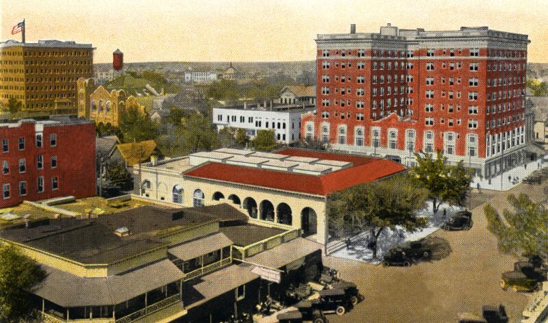 The Princess Martha Hotel, Post Office, and Suwannee Hotel