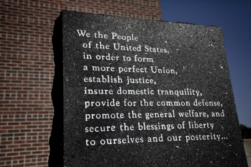 The Reverse Side of the Declaration Stone