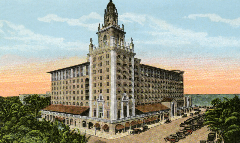 The Roney Plaza Hotel, on the Atlantic