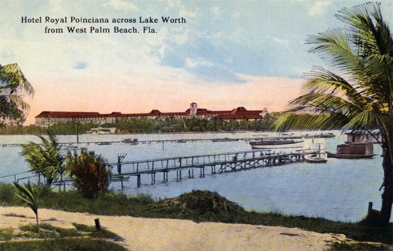 The Royal Poinciana Hotel, from West Palm Beach
