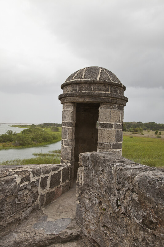 The Sentry Box at Fort Matanzas