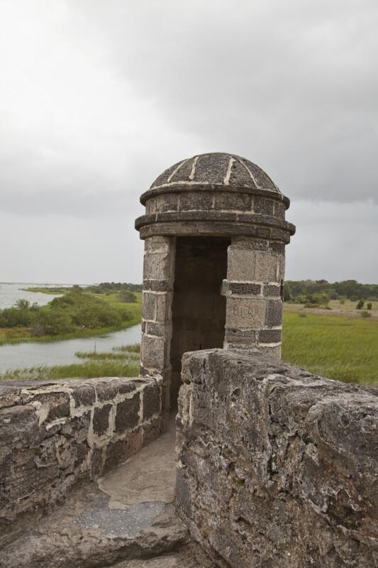 The Sentry Box at Fort Matanzas