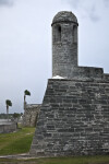 The Sentry Tower on the Northeast Bastion of Castillo de San Marcos