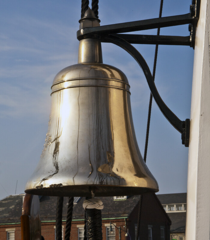 The Ship's Bell on the USS Constitution