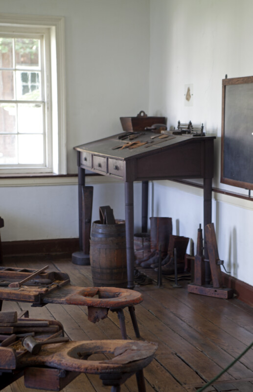 The Shoemaker's Work Table