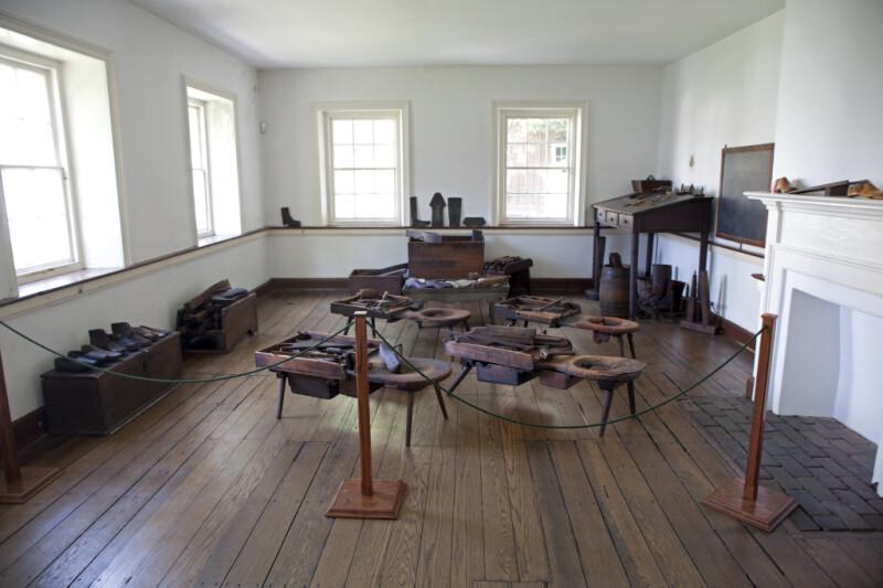 The Shoemaker's Workshop