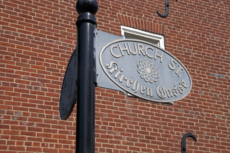 The Sign for Church Street