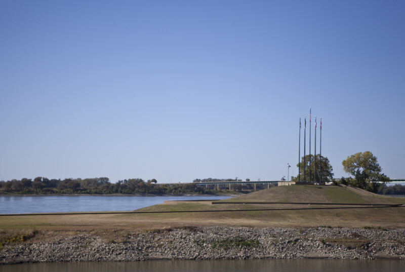 The Southern End of Mud Island River Park