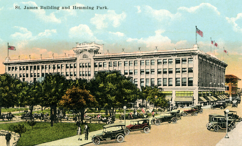 The St. James Building and Hemming Park