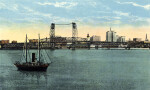 The St. Johns River Bridge and the Jacksonville Skyline