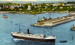 The Steamer George Washington at the Municipal Wharf
