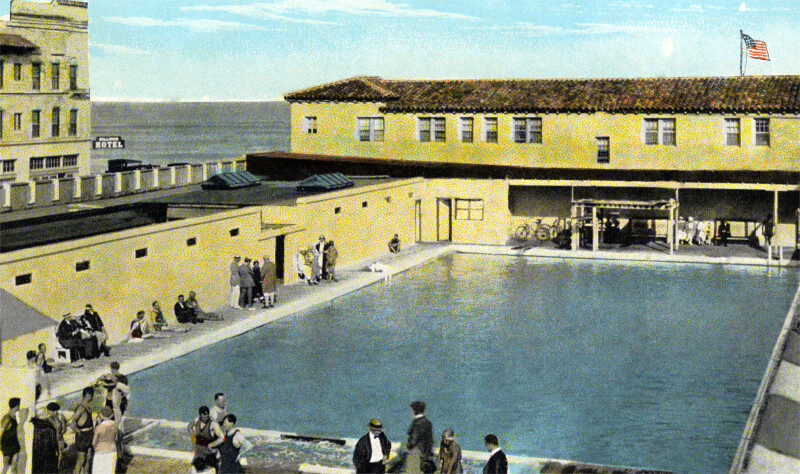 The Swimming Pool at the Gus Bath