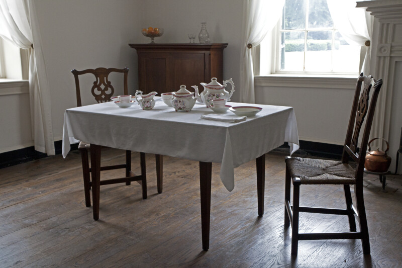 The Table and the Tea Set