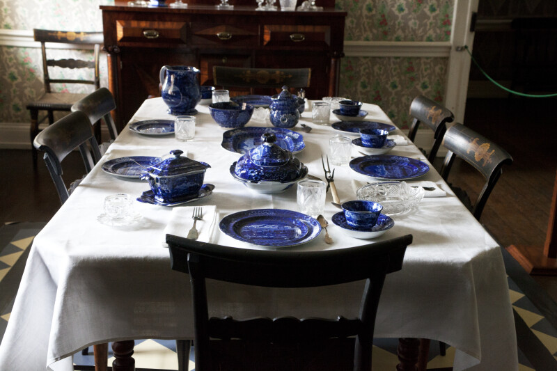 The Table is Set with Staffordshire