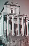 The Temple of Antoninus and Faustina, or San Lorenzo in Miranda, West Façade
