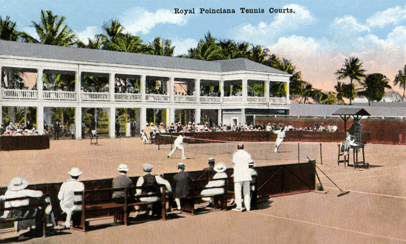 The Tennis Courts at Royal Poinciana