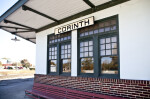 The Train Station in Corinth, Mississippi