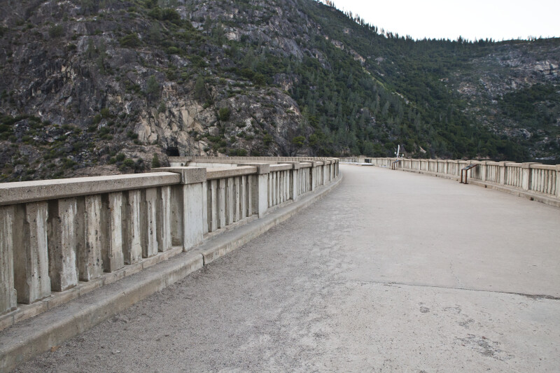 The Tunnel on the Far Side of the O'Shaughnessy Dam