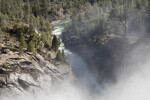 The Tuolumne River Emerging from the Mist