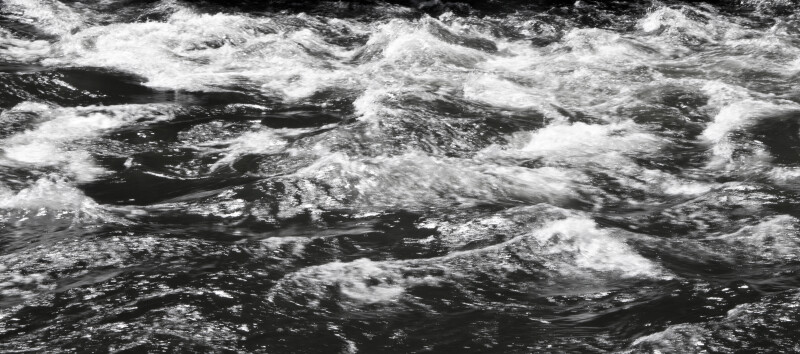 The Turbulent Waters of a Mountain Stream