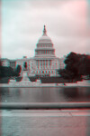 The United States Capitol, from the Other Side of the  Reflecting Pool