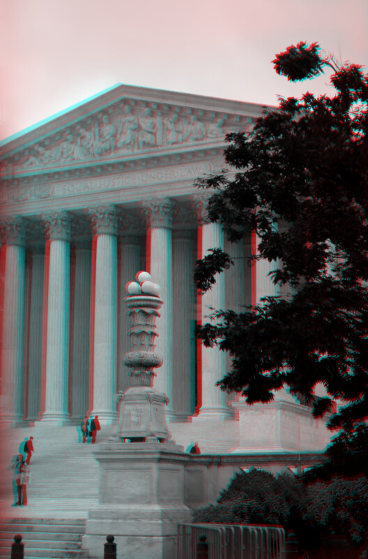 The United States Supreme Court Building, an oblique view from the right