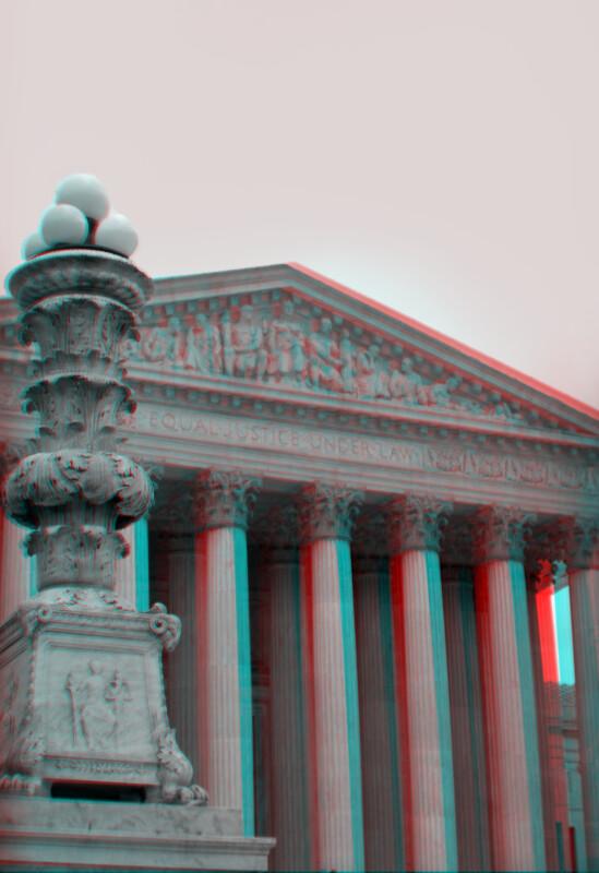 The United States Supreme Court Building, but a bit closer still