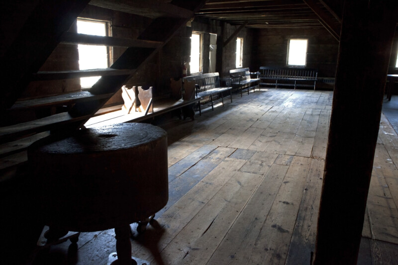 The Upper Story of the Granary