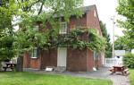 The Vine Covered Trellis on the Baker House