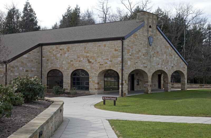 The Visitor Center at the Allegheny Portage Railroad Historic Site