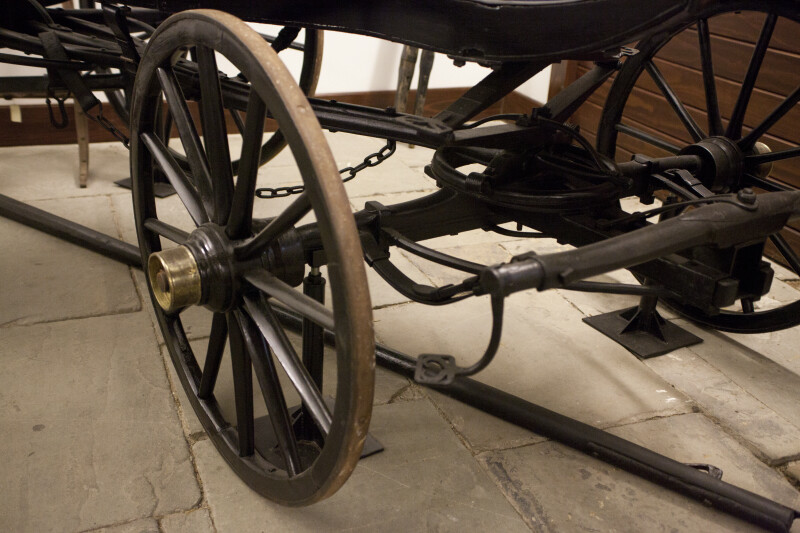 The Wheel of George Rapp's Carriage