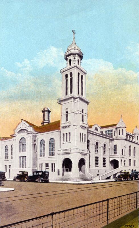 The White Temple Methodist Episcopal Church in Miami, Florida