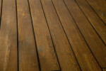 The Wood Planks of a Ship's Deck