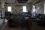 The Workbenches in the Cabinet Shop